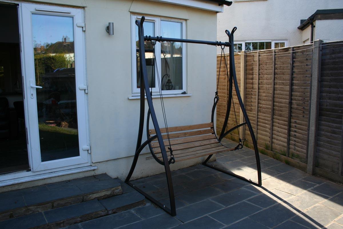 garden-swing-seat-wrought-ironwork