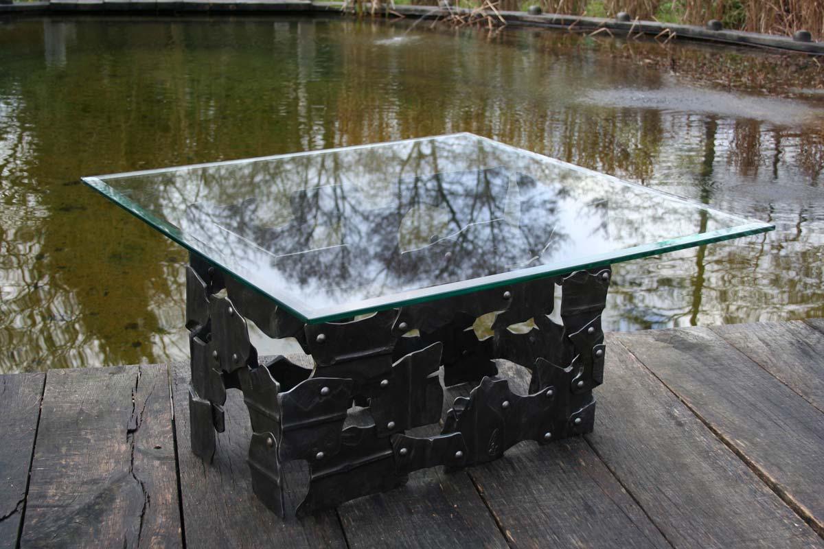hammered-art-table-blacksmiths
